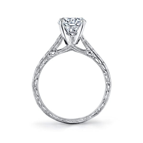 10860HE Solitaire Engagement Ring