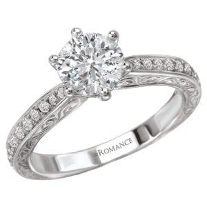 Classic Semi-Mount Diamond Ring
