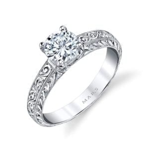 13009HE Solitaire Engagement Ring
