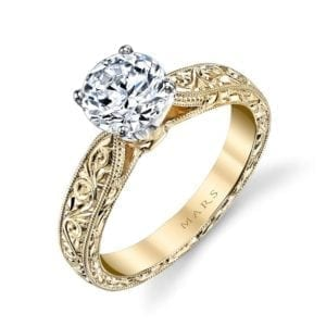 13256HE Solitaire Engagement Ring