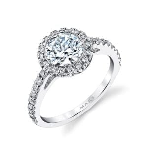 13813 Diamond Engagement Ring 0.34 Ctw.