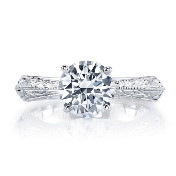 13912HE Solitaire Engagement Ring