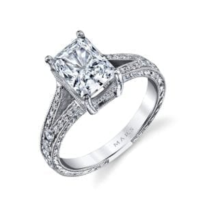 14529 Diamond Engagement Ring 0.34 Ctw.