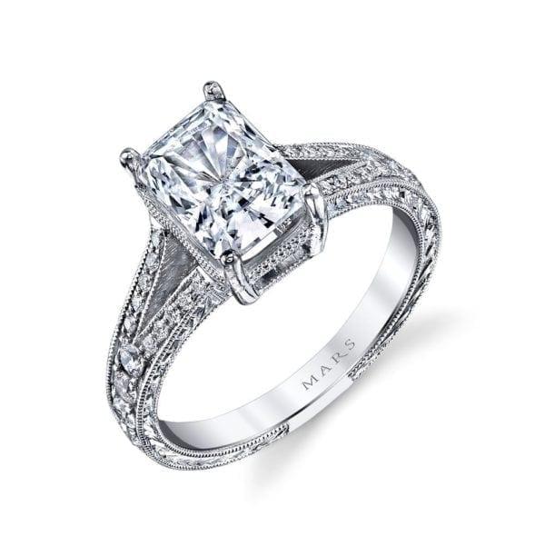 14529 Diamond Engagement Ring 0.34 Ctw.