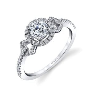 25011  Diamond Engagement Ring 0.27 Ctw.