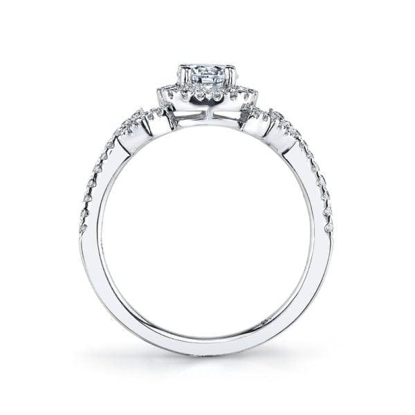 25011  Diamond Engagement Ring 0.27 Ctw.