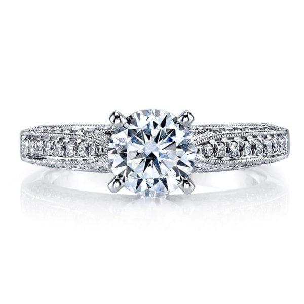 25105 Diamond Engagement Ring 0.29 Ctw.