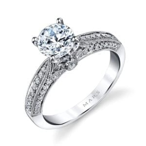 25105 Diamond Engagement Ring 0.29 Ctw.