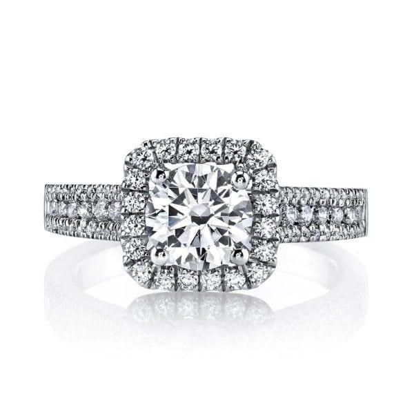 25126  Diamond Engagement Ring 0.52 Ctw.