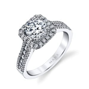 25126  Diamond Engagement Ring 0.52 Ctw.