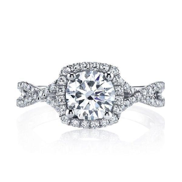25127  Diamond Engagement Ring 0.47 Ctw.