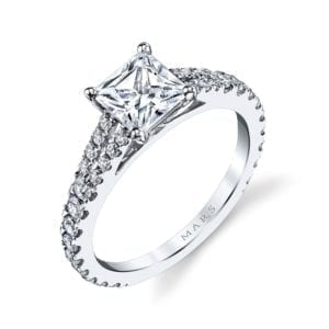 25134 Diamond Engagement Ring 0.57 Ctw.