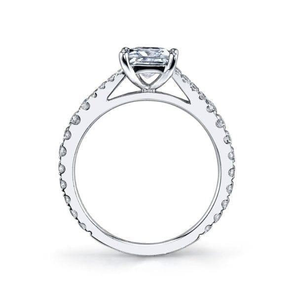 25134 Diamond Engagement Ring 0.57 Ctw.