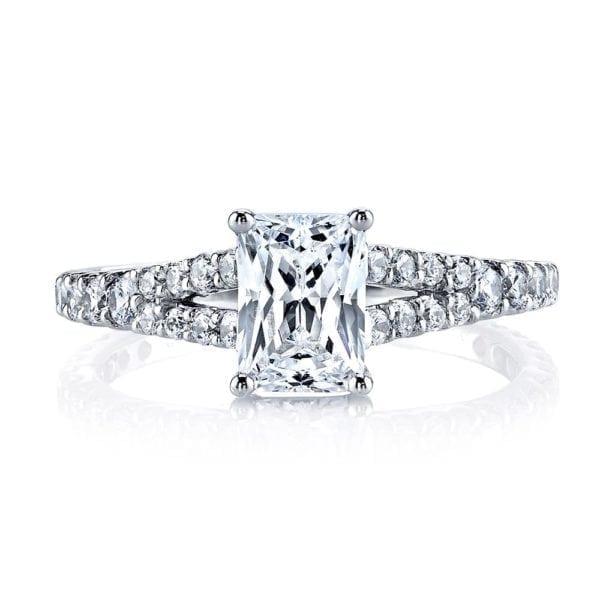 25139 Diamond Engagement Ring 0.57 Ctw.