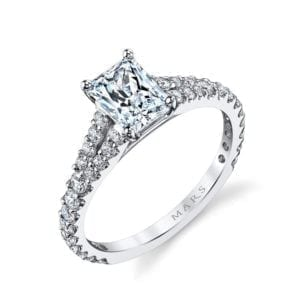 25139 Diamond Engagement Ring 0.57 Ctw.