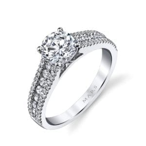 25145 Diamond Engagement Ring 0.41 Ctw.