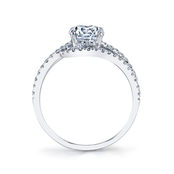 25149 Diamond Engagement Ring 0.36 Ctw.