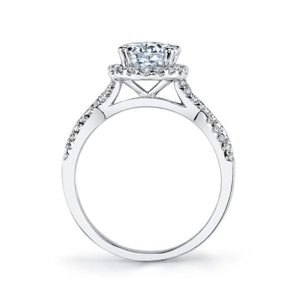 25156  Diamond Engagement Ring 0.43 Ctw.
