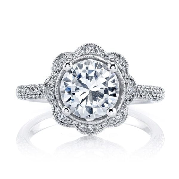 25255  Diamond Engagement Ring 0.47 Ctw.