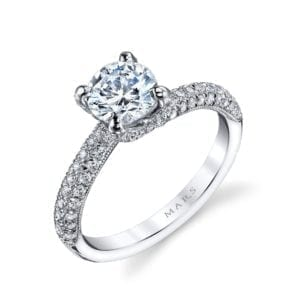 25272 Diamond Engagement Ring 0.60 Ctw.