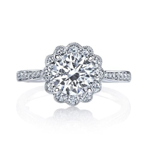 25329  Diamond Engagement Ring 0.60 Ctw.