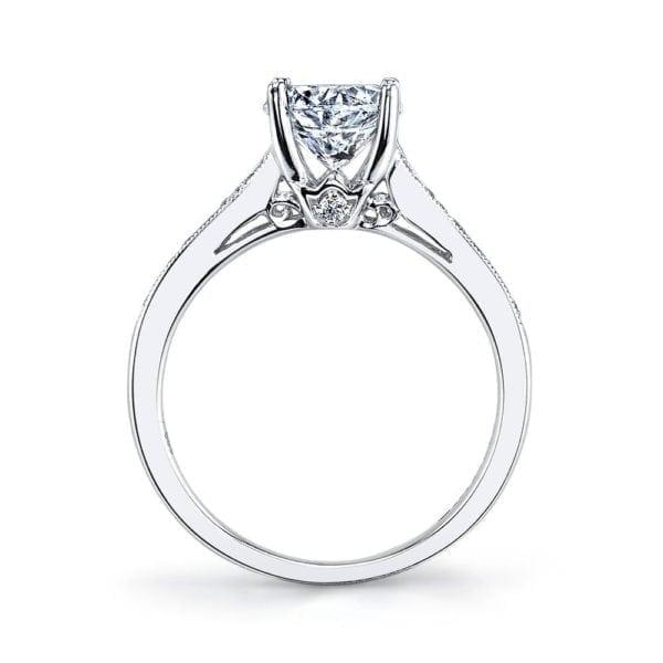25330 Diamond Engagement Ring 0.17 Ctw.