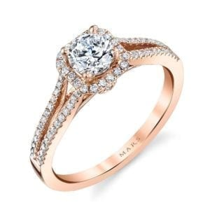 25355  Diamond Engagement Ring 0.25 Ctw.