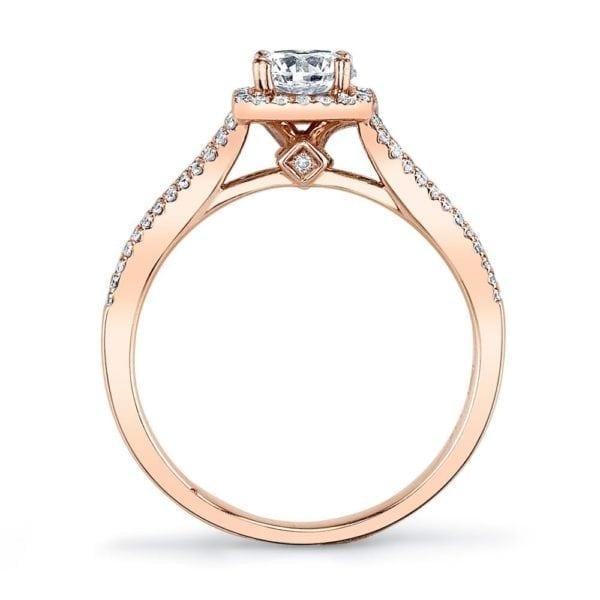 25355  Diamond Engagement Ring 0.25 Ctw.