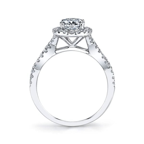 25366  Diamond Engagement Ring 0.48 Ctw.