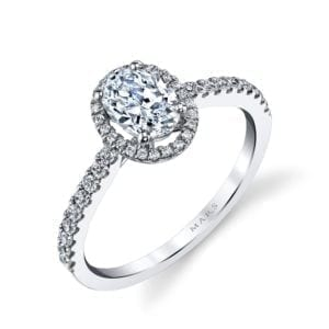 25377  Diamond Engagement Ring 0.20 Ctw.