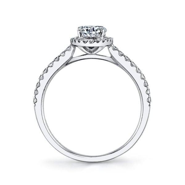 25377  Diamond Engagement Ring 0.20 Ctw.