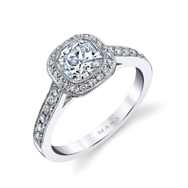 25400 Diamond Engagament Ring  0.40 Ctw.