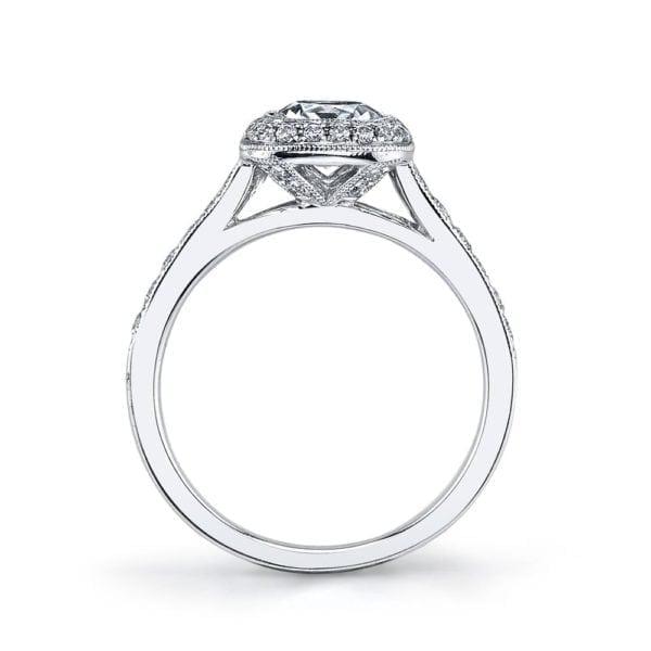 25400 Diamond Engagament Ring  0.40 Ctw.
