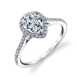 25467  Diamond Engagement Ring 0.30 Ctw.