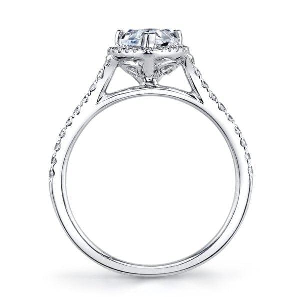 25467  Diamond Engagement Ring 0.30 Ctw.
