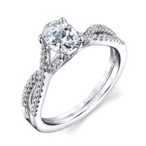 25475 Diamond Engagement Ring 0.15 Ctw.