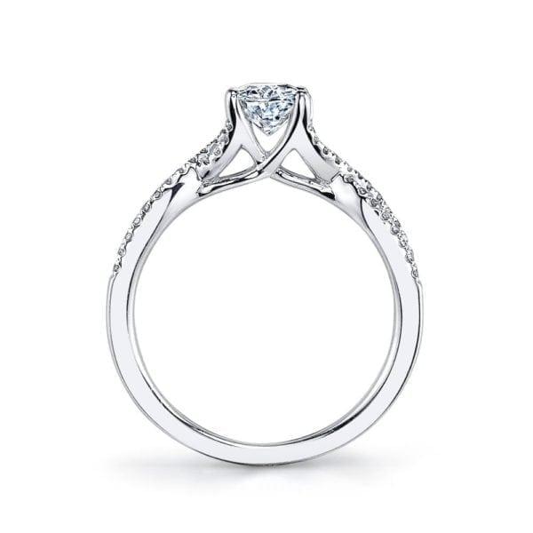 25475 Diamond Engagement Ring 0.15 Ctw.