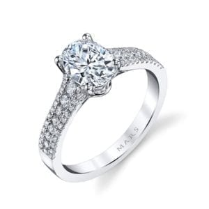 25478 Diamond Engagement Ring 0.42 Ctw.