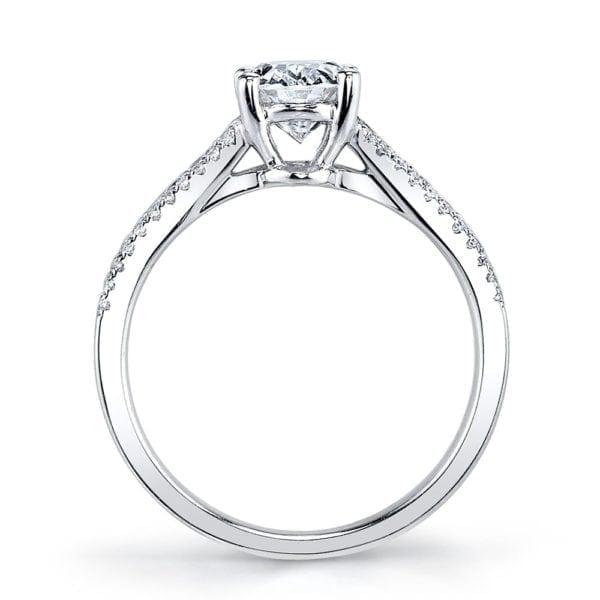 25478 Diamond Engagement Ring 0.42 Ctw.