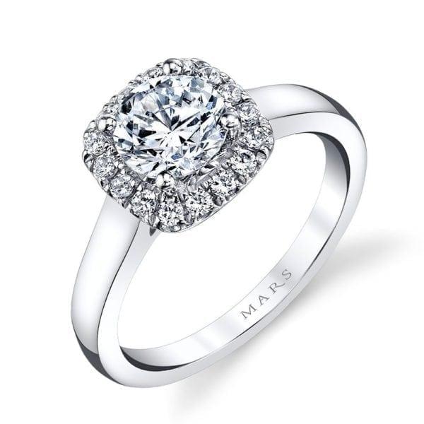 25517  Diamond Engagement Ring 0.24 Ctw.