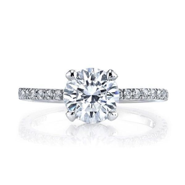 25527 Diamond Engagement Ring 0.32 Ctw.