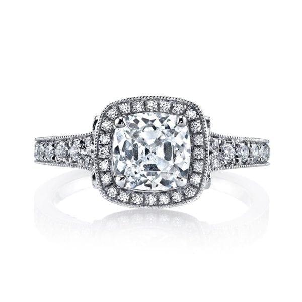 25530  Diamond Engagement Ring 0.51 Ctw.