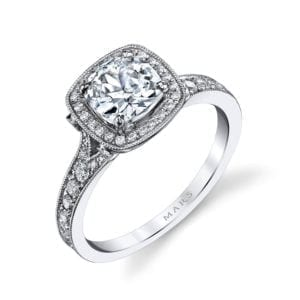 25530  Diamond Engagement Ring 0.51 Ctw.