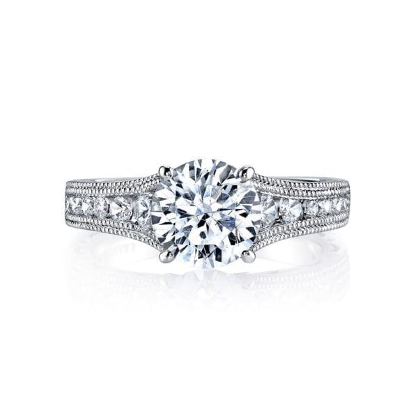 25545 Diamond Engagament Ring  0.51 Ctw.