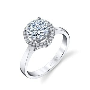 25594 Diamond Engagement Ring 0.20 Ctw.