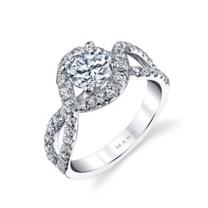 25603 Diamond Engagement Ring, 0.71 Ctw.