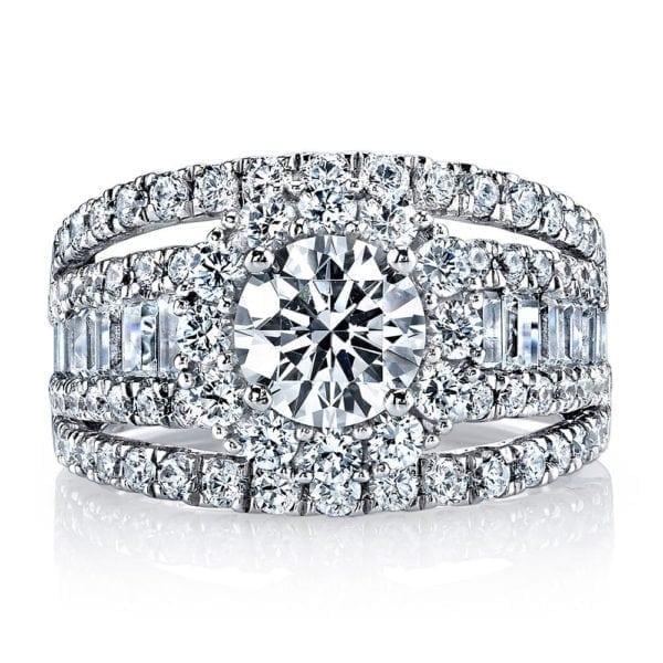 25625 Diamond Engagement Ring 2.27 Ctw.