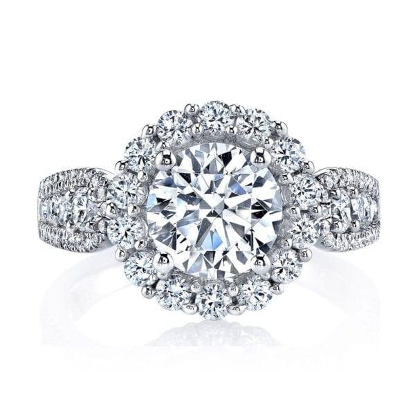 25628 Diamond Engagement Ring 1.22 Ctw.