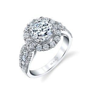 25628 Diamond Engagement Ring 1.22 Ctw.