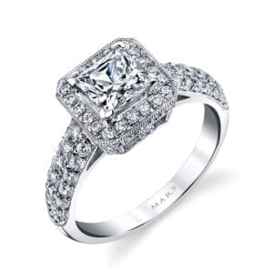 25632 Diamond Engagement Ring 0.77 Ctw.